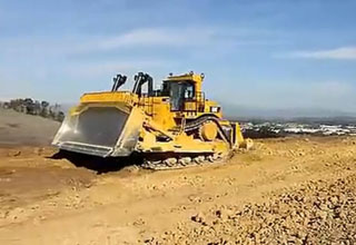 Bulldozer work