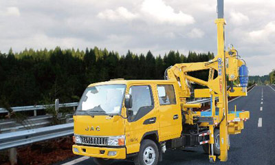 Guardrail Repair Car